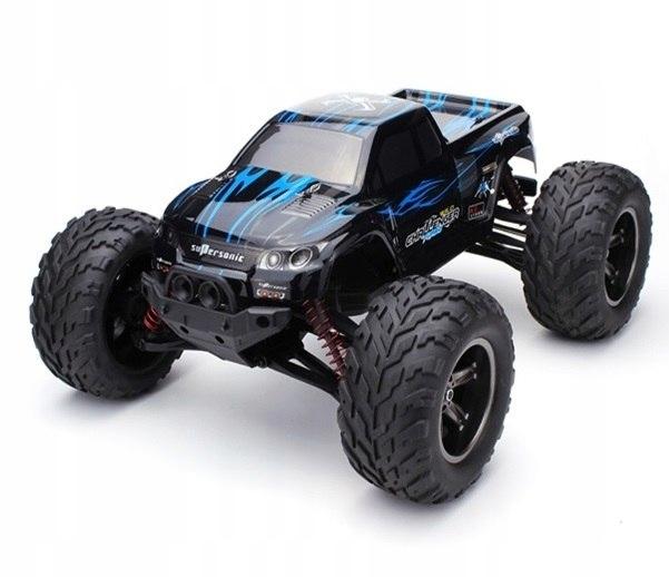 Samochód RC MONSTER TRUCK 1:12 2.4GHz NIEBIESKI #E