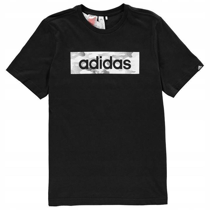 bluza chlopieca adidas czarna z napisamai adidas