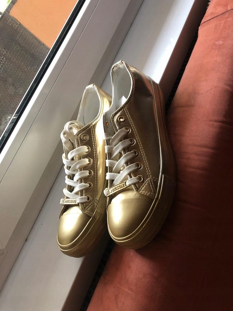 Buty trampki złote BIG STAR rozmiar 39