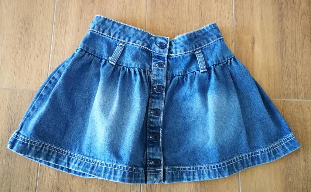 Spódniczka jeansowa 116/122