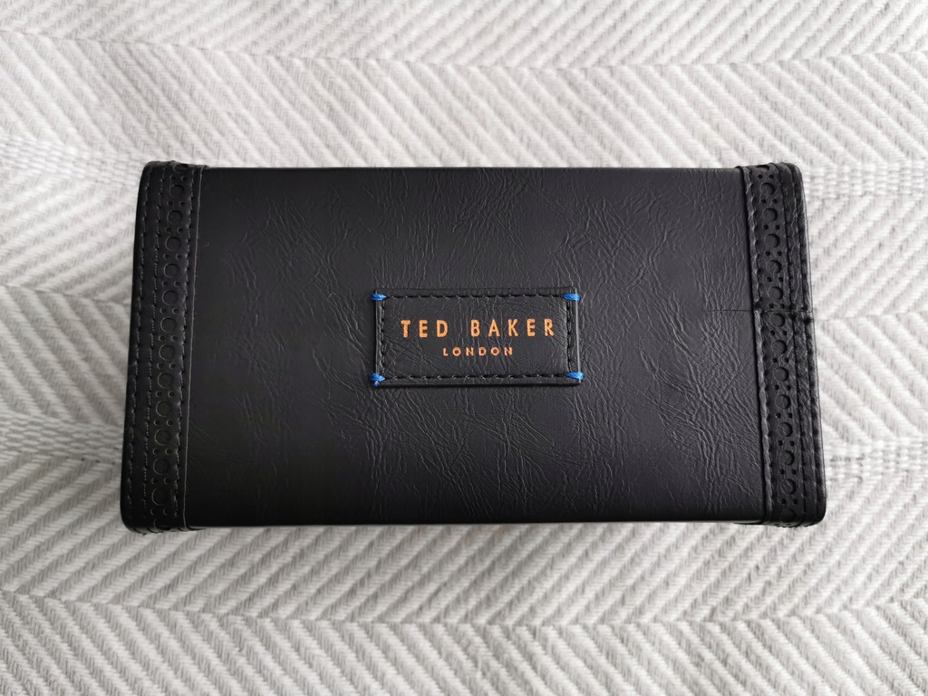 Pudełko etui szkatułka na zegarki Ted Baker skóra!
