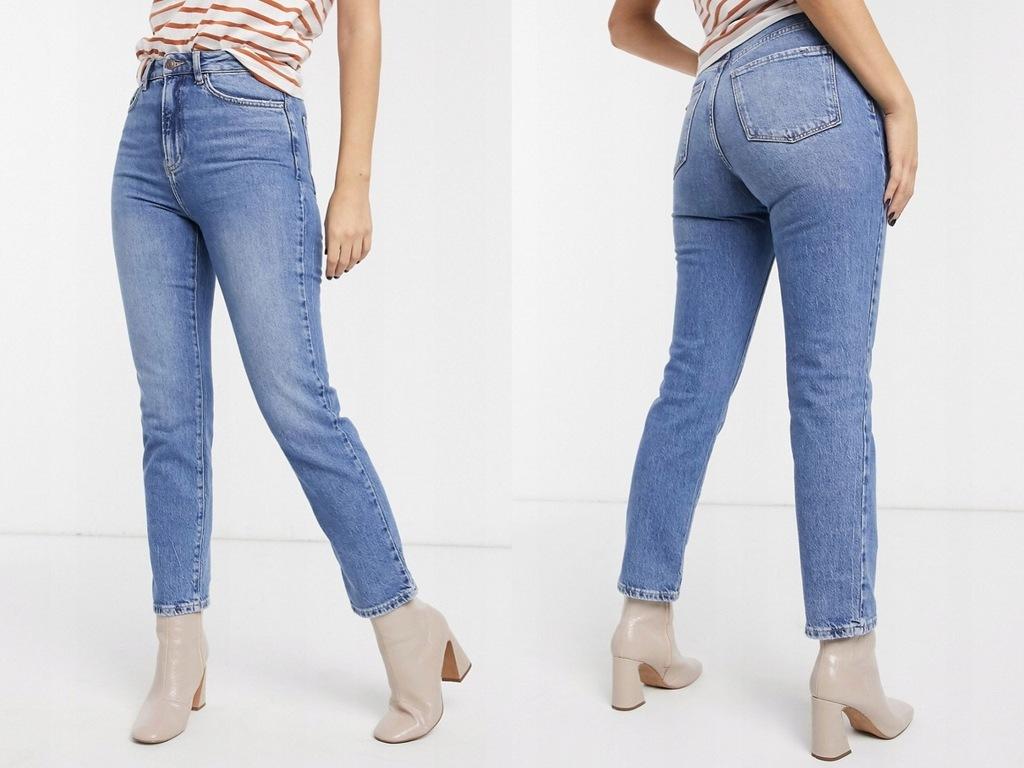 New Look Jasne niebieskie proste jeansy XXL/44