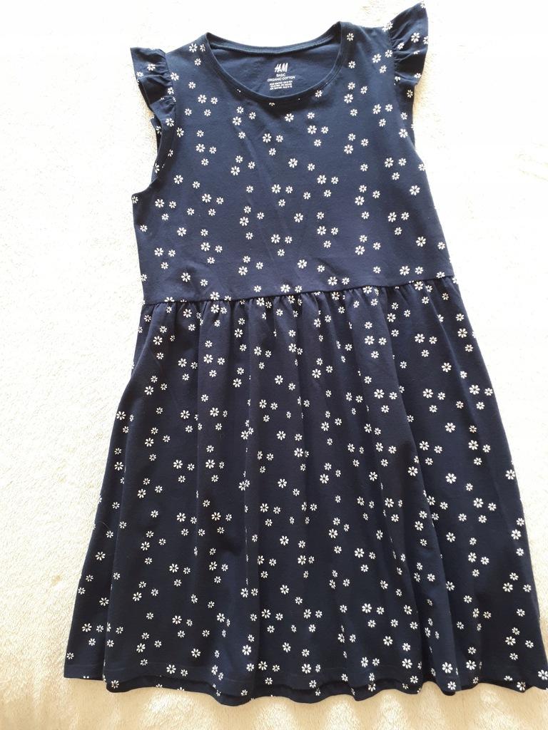 H&M sukienka letnia 134/140 nowa