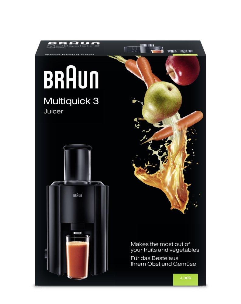 Sokowirówka Braun J300 800W Mocna Całe owoce 7350714211