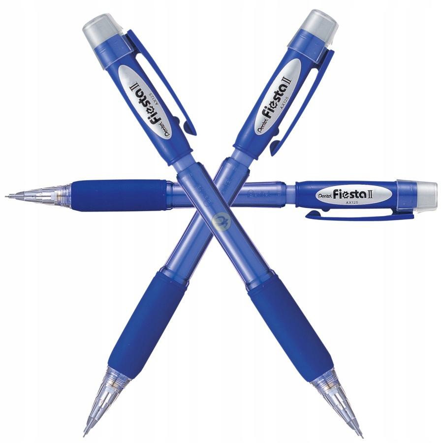 Pentel ołówek automatyczny z gumką niebieski 0,7mm