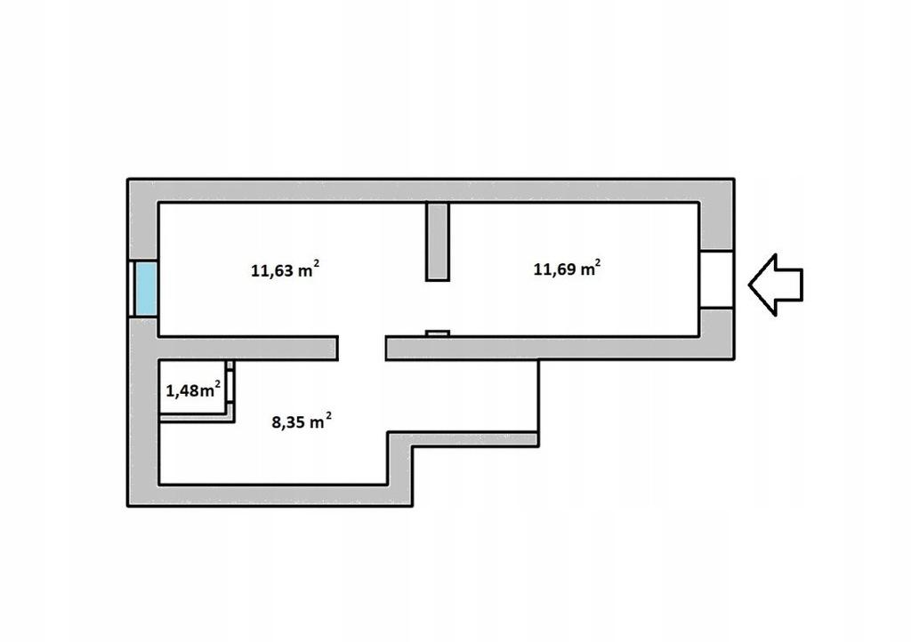 Komercyjne, Poznań, Wilda, 33 m²