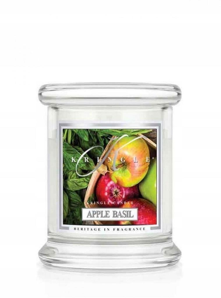 Świeca zapachowa Kringle Candle - Apple Basil - mi