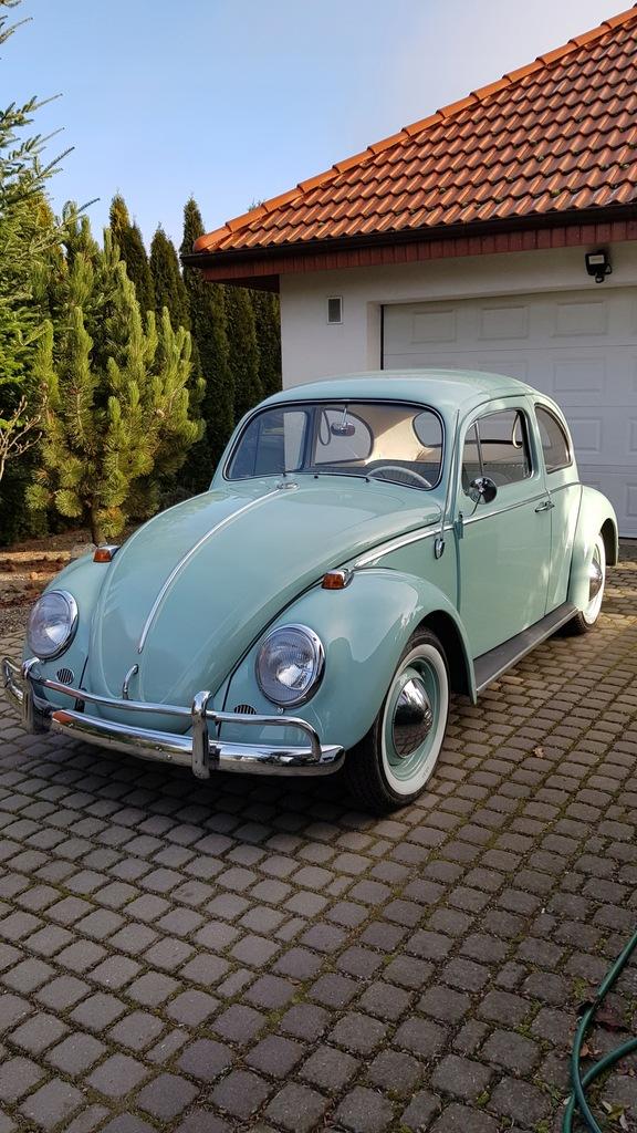 Volkswagen Garbus 1964 rocznik po pełnej renowacji