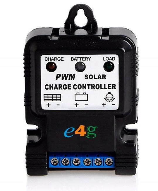 Regulator ładowania PWM 10A 12V do solar panelu