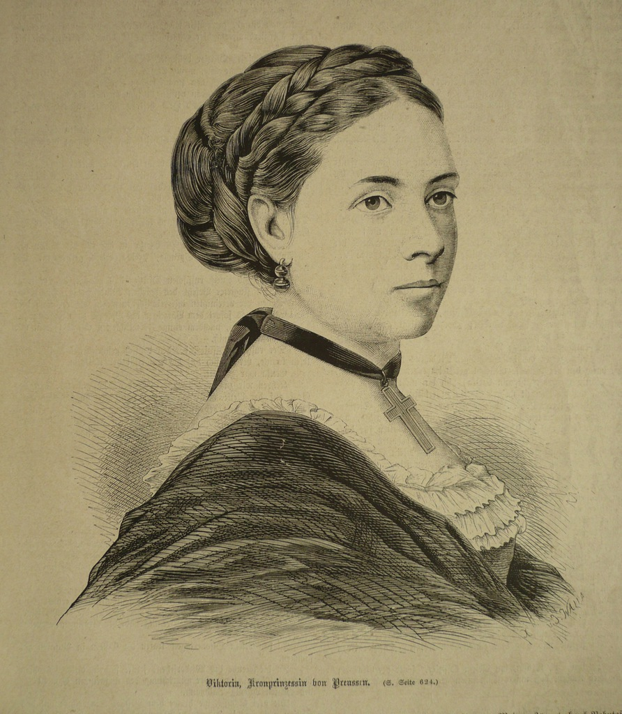 Viktoria wice królowa von Preussen, oryg. 1871