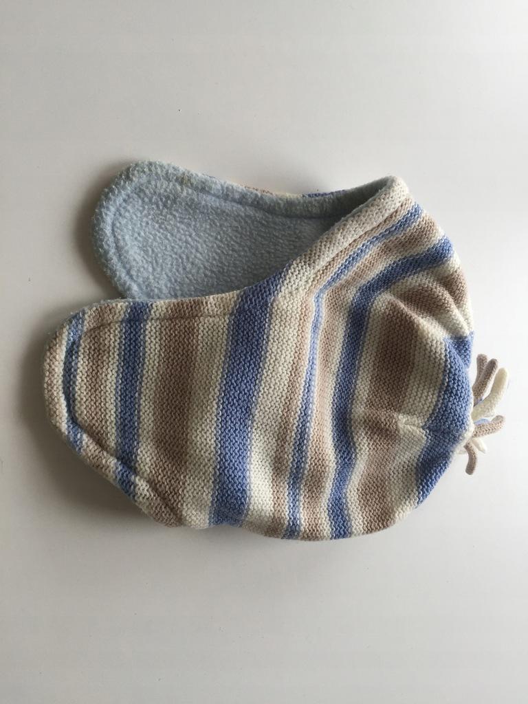 czapka wełniana zimowa GEORGE 0-3mce