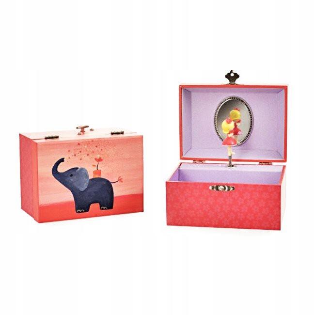 Pozytywka - szkatułka z baletnicą Elephant Egmont