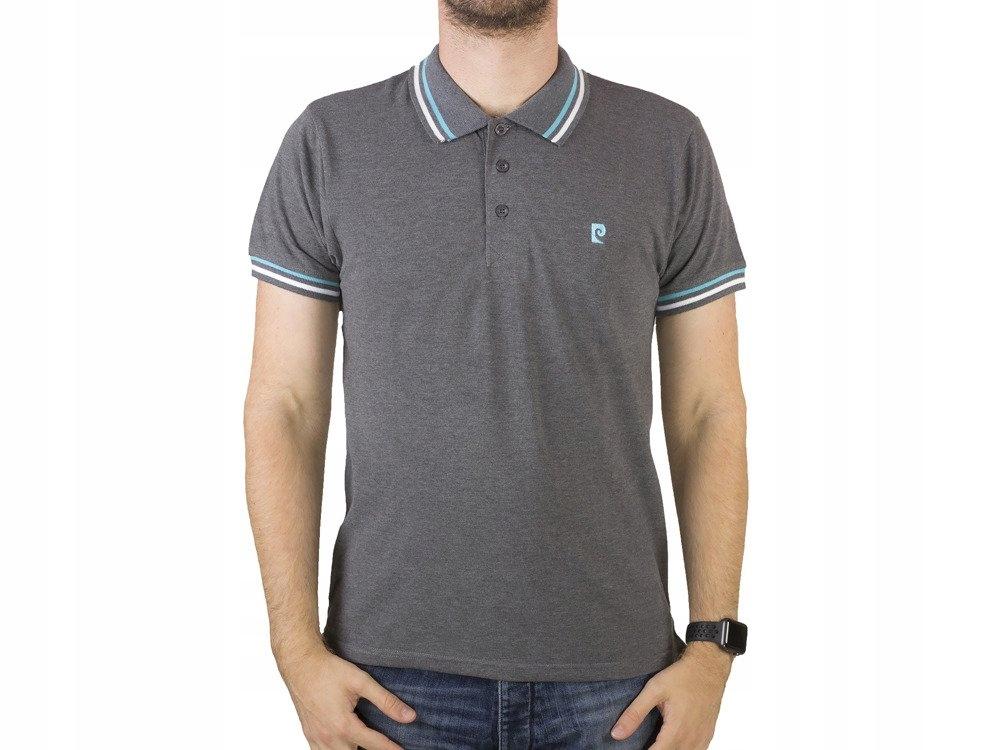 PIERRE CARDIN Koszulka Polo Premium 100% Bawełna