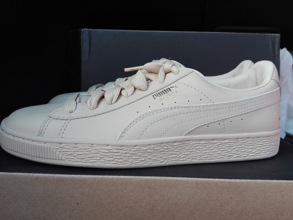 PUMA BASKET CLASSIC CITY PARIS R. 40,5 26cm SKÓRA