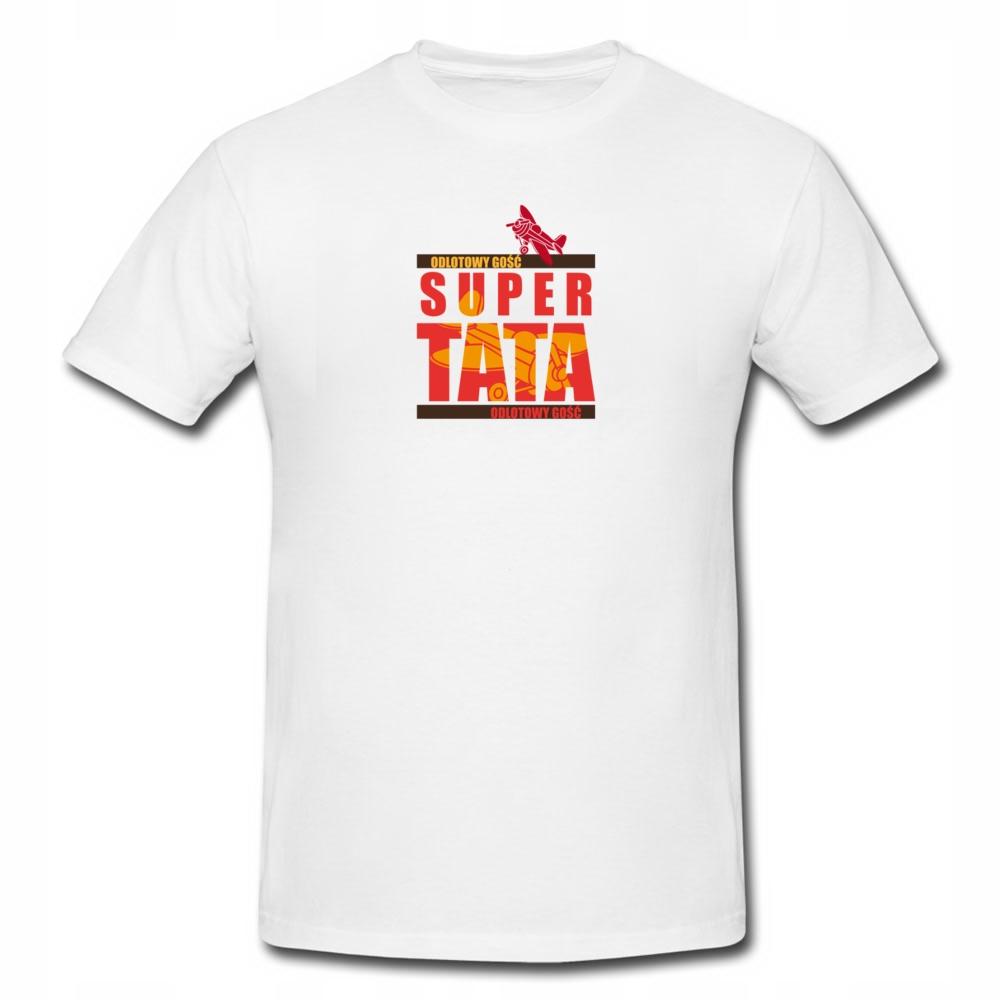 Koszulka Prezent Na Dzień Taty + GRATIS IMIĘ/TEKST