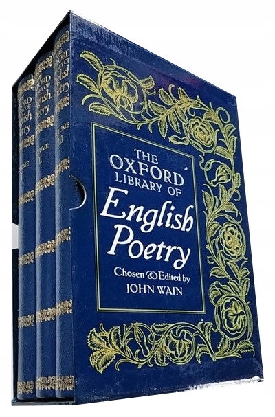 THE OXFORD LIBRARY OF ENGLISH POETRY - BOXED SET
