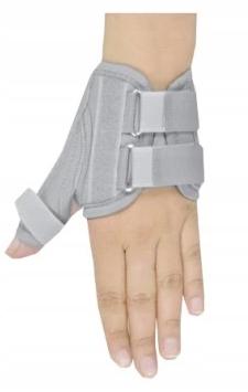 Orteza stabilizator palca ręki na kciuk XL PRAWA
