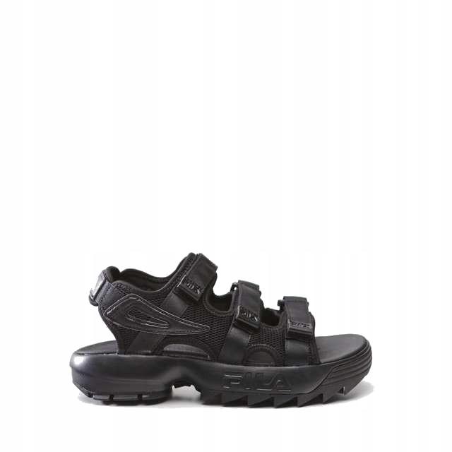 Fila Disruptor Sandal Wmn 12V Black Black czarne