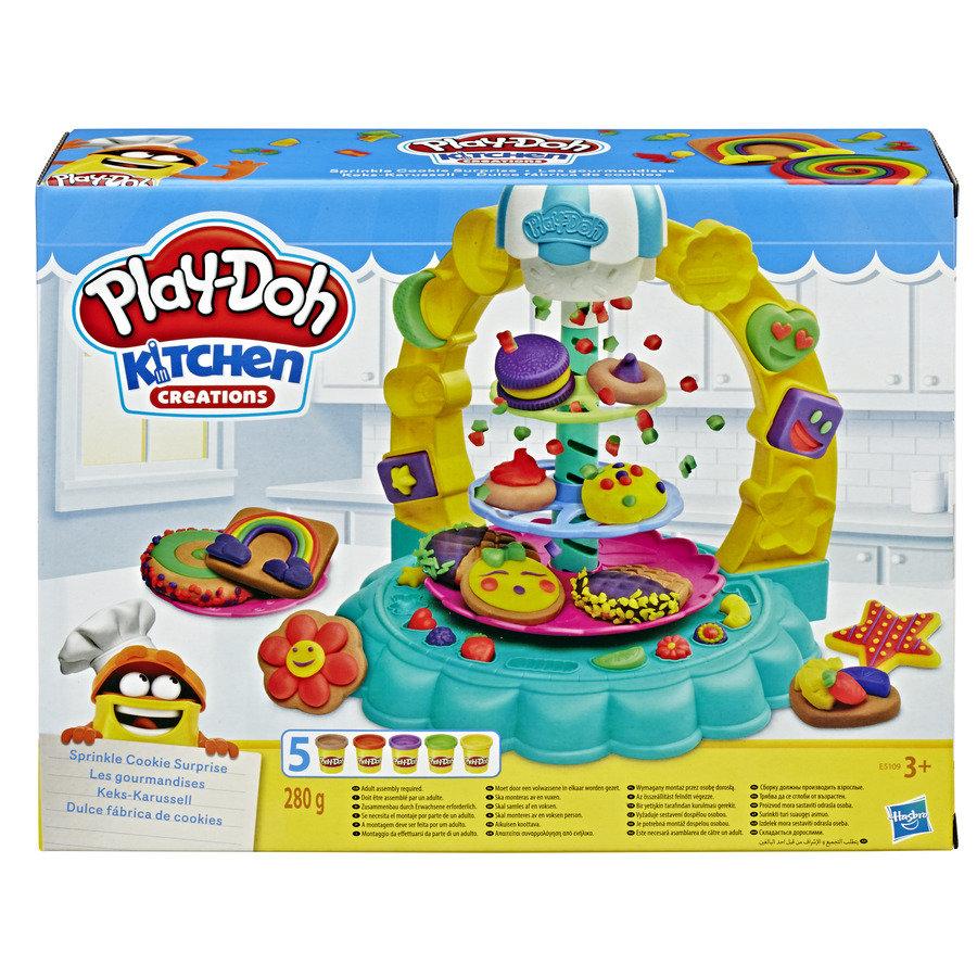 Play Doh Zestaw Posypkowa Wieza Ciasteczka E5109 9282210512 Oficjalne Archiwum Allegro