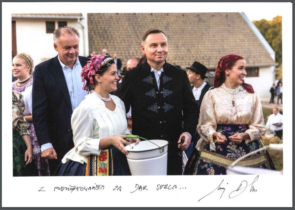 Prezydent Andrzej Duda - góralska kurtka