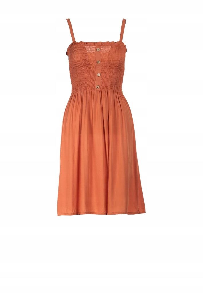 Camelowa Sukienka L/XL