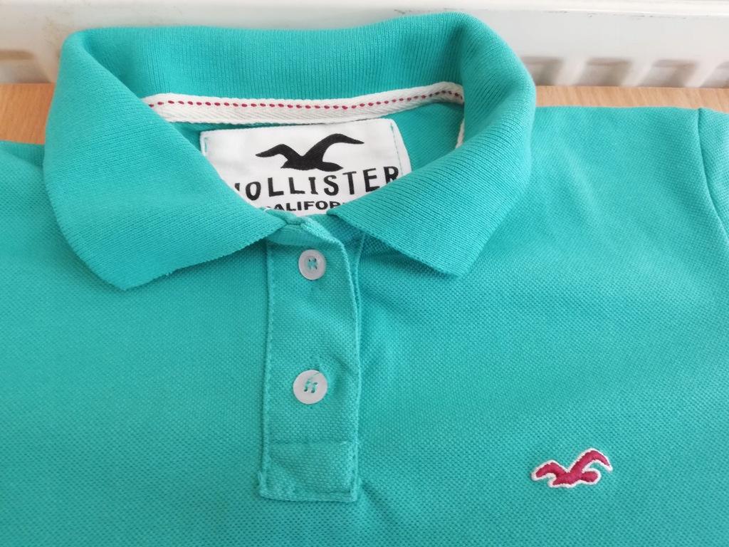 koszulka polo damska Hollister