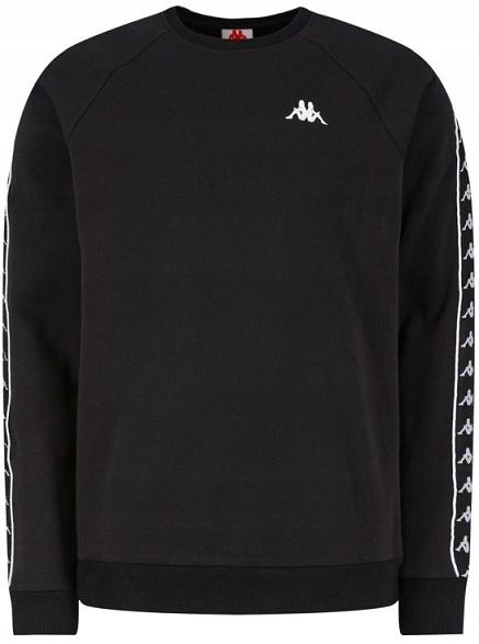 ZLMB10001L Czarna bluza Kappa L