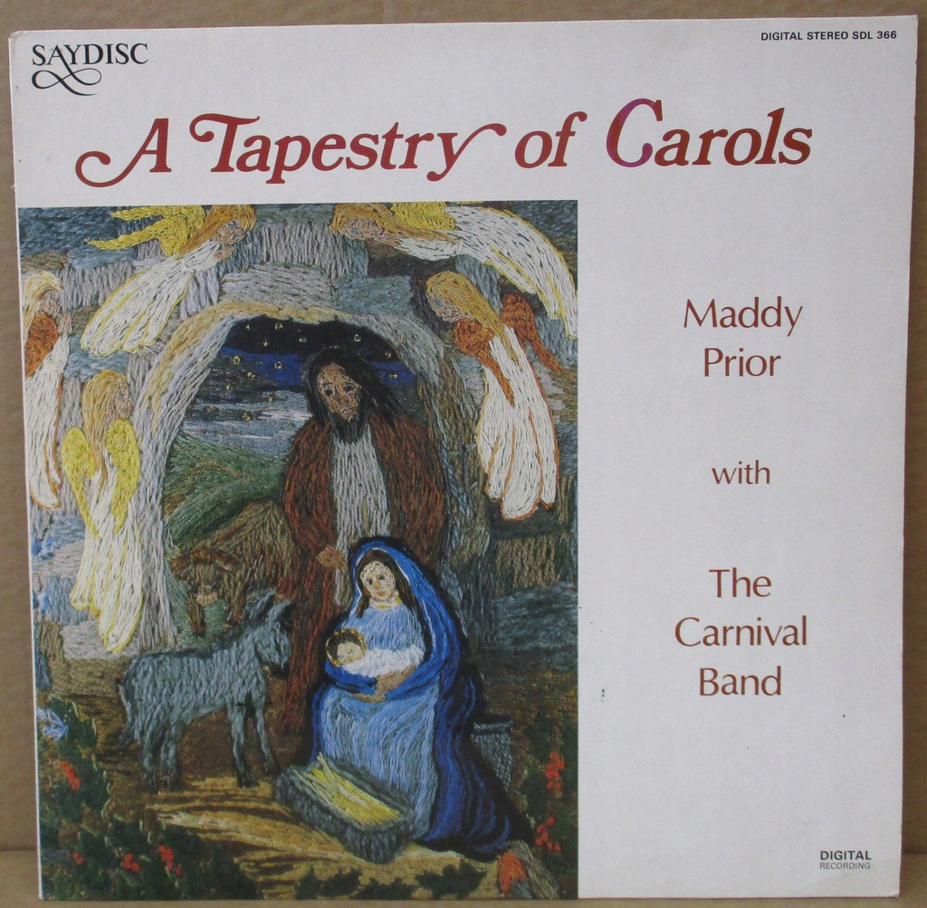 M. PRIOR WITH CARNIVAL BAND TAPESTRY OF CAROLS LP