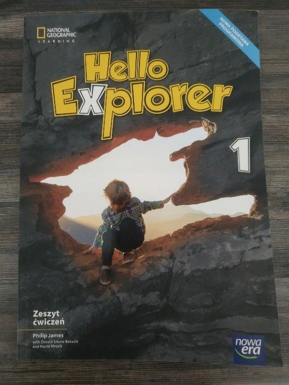 Hello Explorer zeszyt ćwiczeń kl. 1.Nowa.