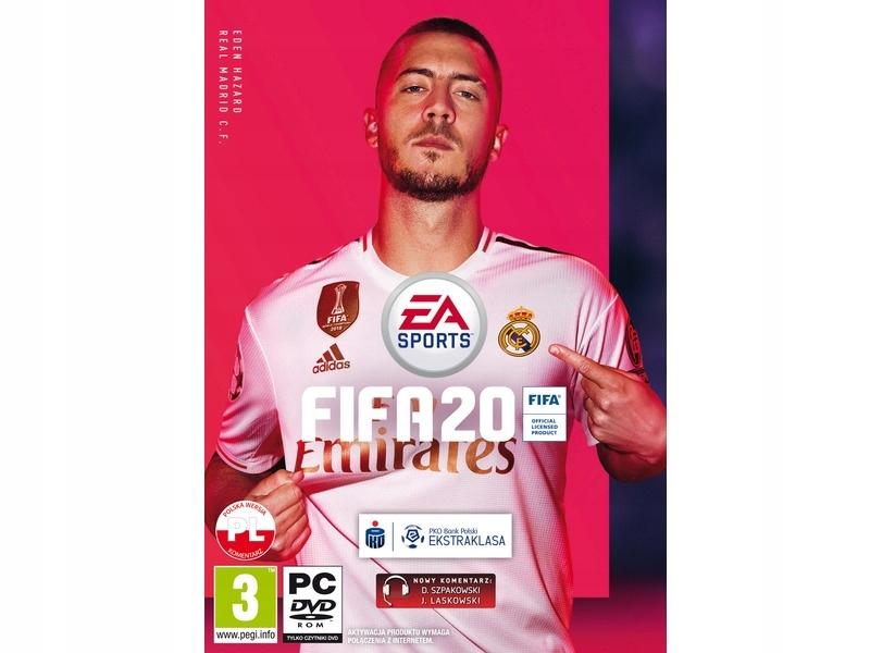 Gra PC Fifa 20 w całości po Polsku Folia PL