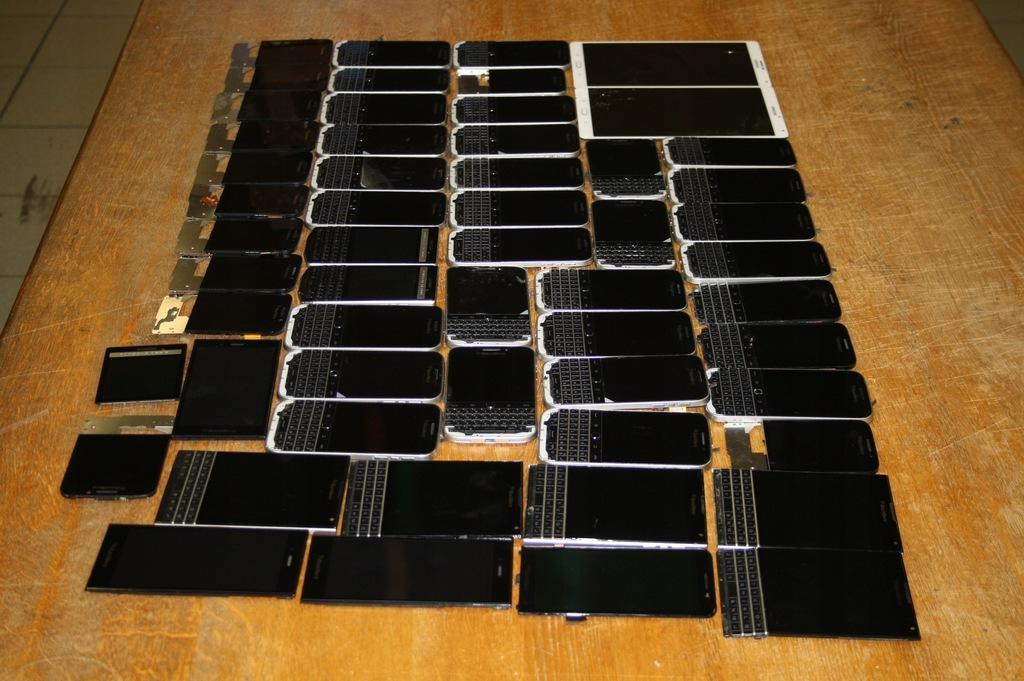 Pakiet 47szt Lcd BlackBerry Passport Classic inne