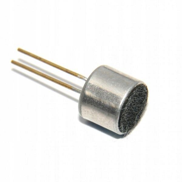 Mikrofon elektretowy 50-56db 9x4,5mm
