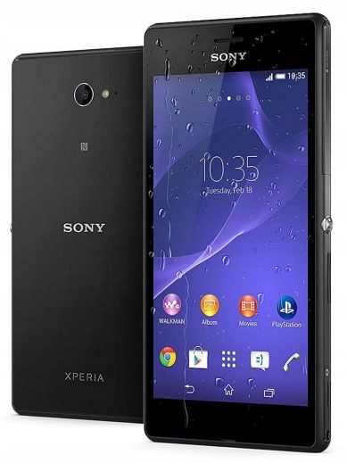 SONY XPERIA M2 AQUA E2403 1GB 8GB BLACK ANDROID
