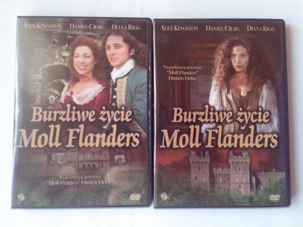 BURZLIWE ŻYCIE MOLL FLANDERS WYD. 2-PŁY. 2 DVD-BOX