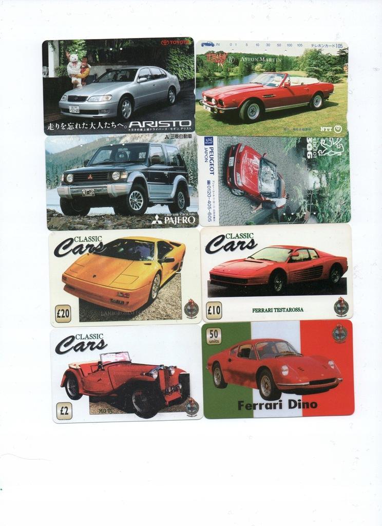Karty zagraniczne-samochody