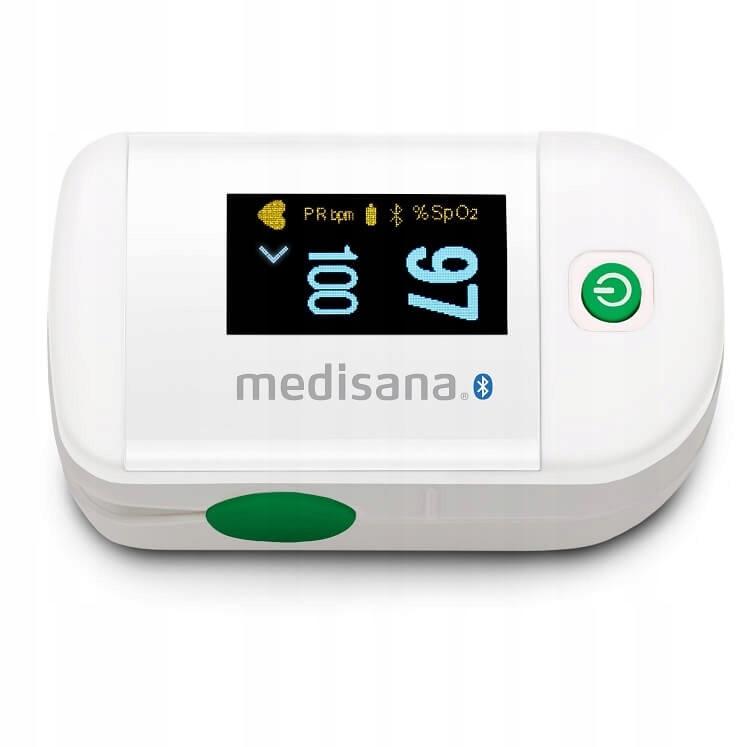 Pulsoksymetr Medisana PM 100 CONNECT biały