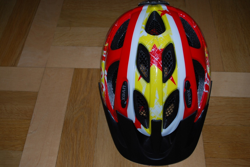 Kask rowerowy UVEX 6-9 lat