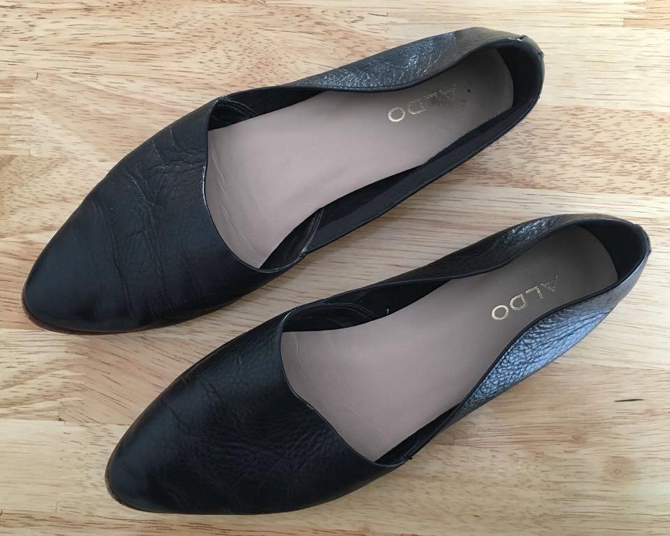 Buty Aldo czarne 36 wsuwane
