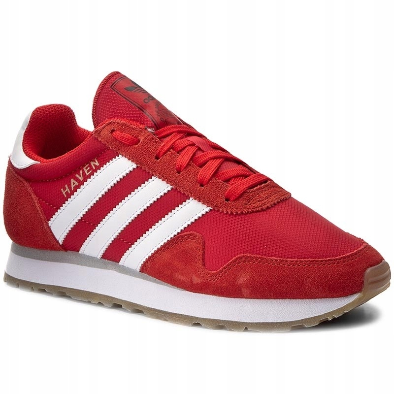 adidas originals buty sportowe haven czerwone