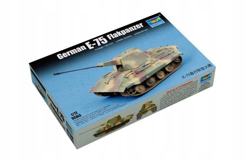 Model plastikowy Niemiecki E-75 Flakpanzer
