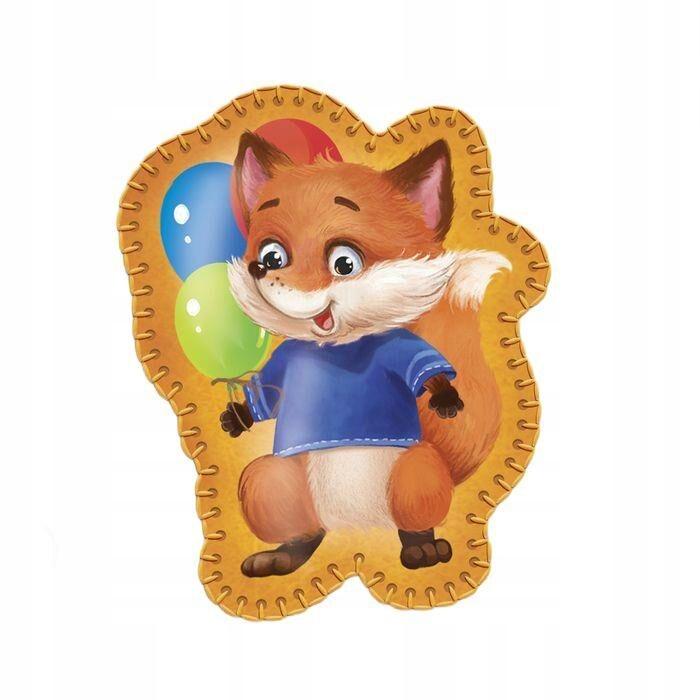 """Zabawka wykonana z filcu """"fox kulkami"""" nadruków"""