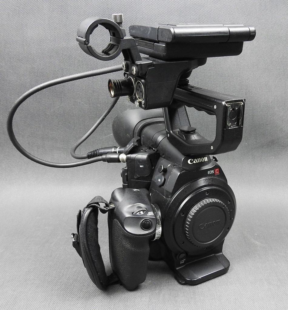 Kamera Canon EOS C300 EF 4x Duże Baterie GW FV
