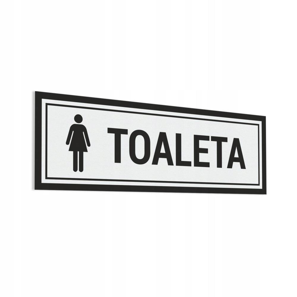 Naklejka - Toaleta Damska 10x30