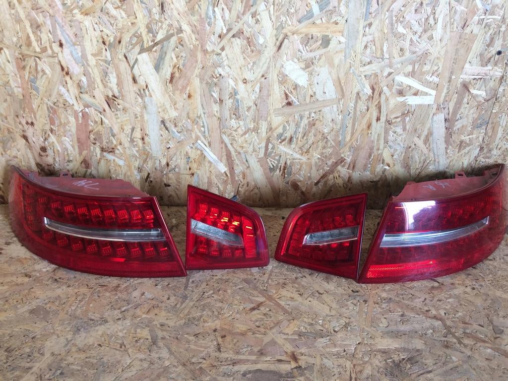 Lampy Tyl Audi A6 C6 Lift Sedan Led Kpl 8149661060 Oficjalne Archiwum Allegro