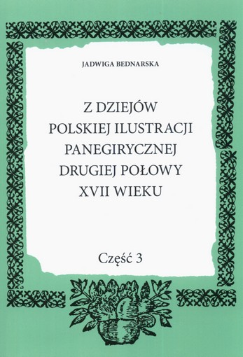 Polska ilustracja panegiryczna GRAFIKI Starodruki