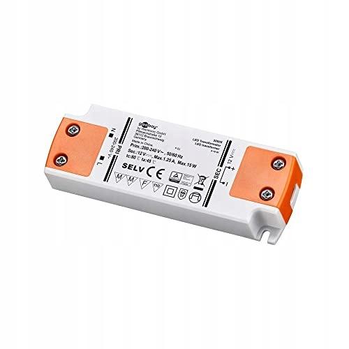 TRANSFORMATOR LED 1 5W / 12 V GOOBAY 30005