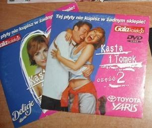 KASIA I TOMEK 1 I 2 - DVD