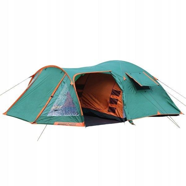 DUŻY Namiot turystyczny 4 osobowy rodzinny TROPIK