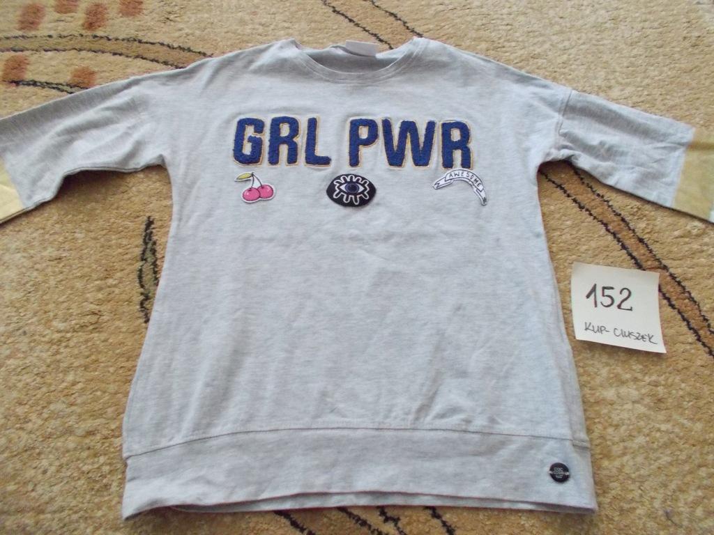 Bluza dziewczęca w rozmiarze 152