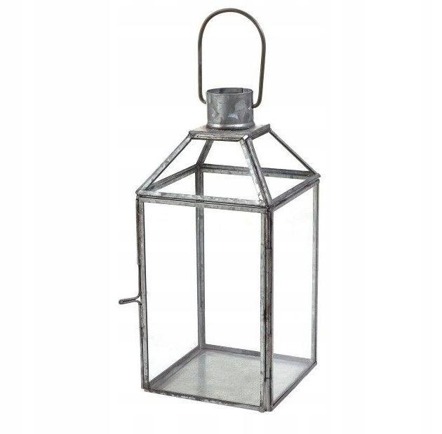Solidna Latarnia ogrodowa latarenka 22x11x11 lampi